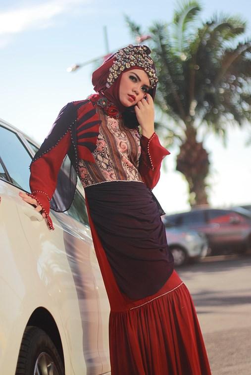Hunting Foto Model Modern Hijab Ikshan Colly dan Donna Model Agency jilbob