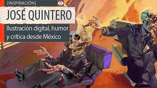 Ilustración digital, humor y crítica de JOSÉ QUINTERO