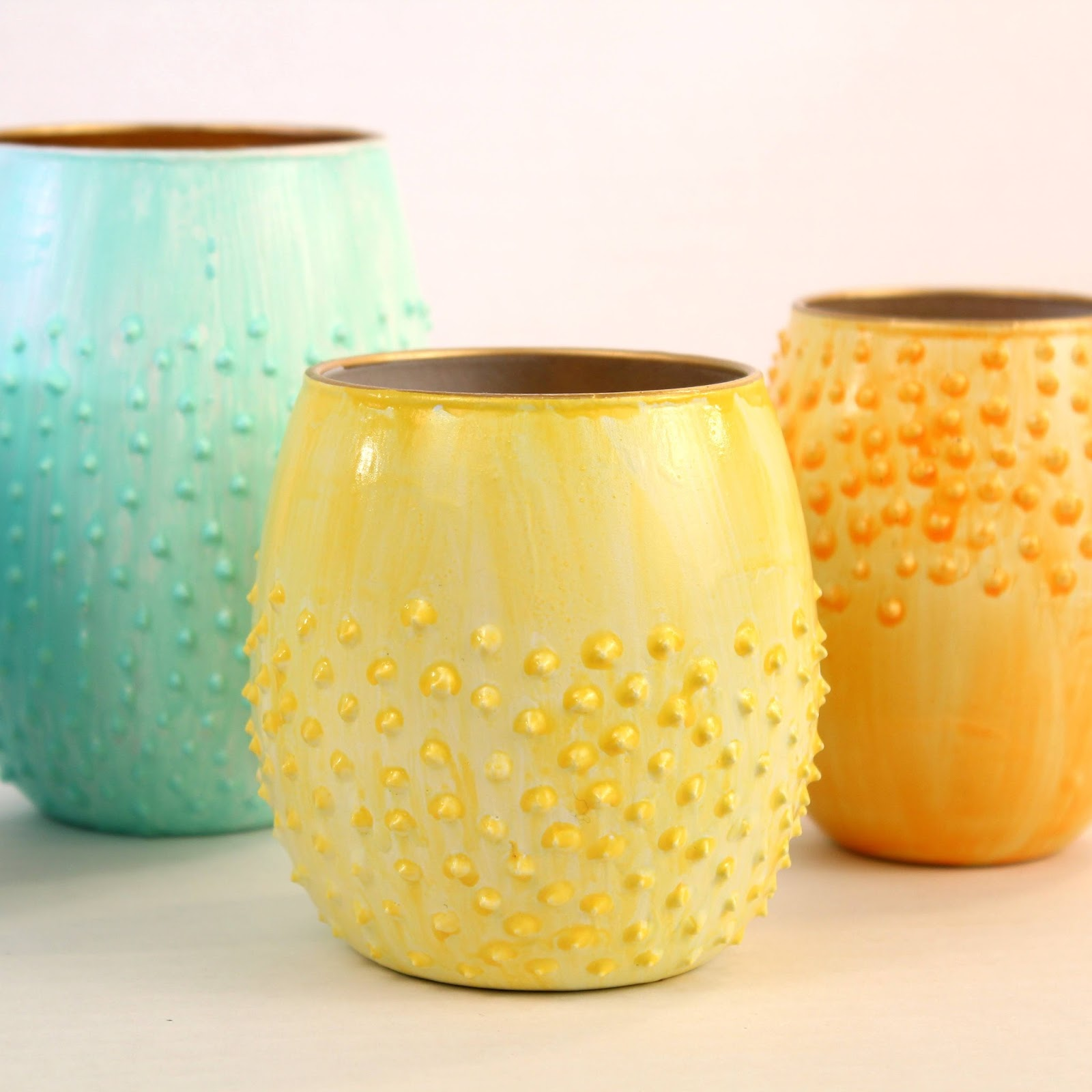 Gorgeous Flower Vases DIY