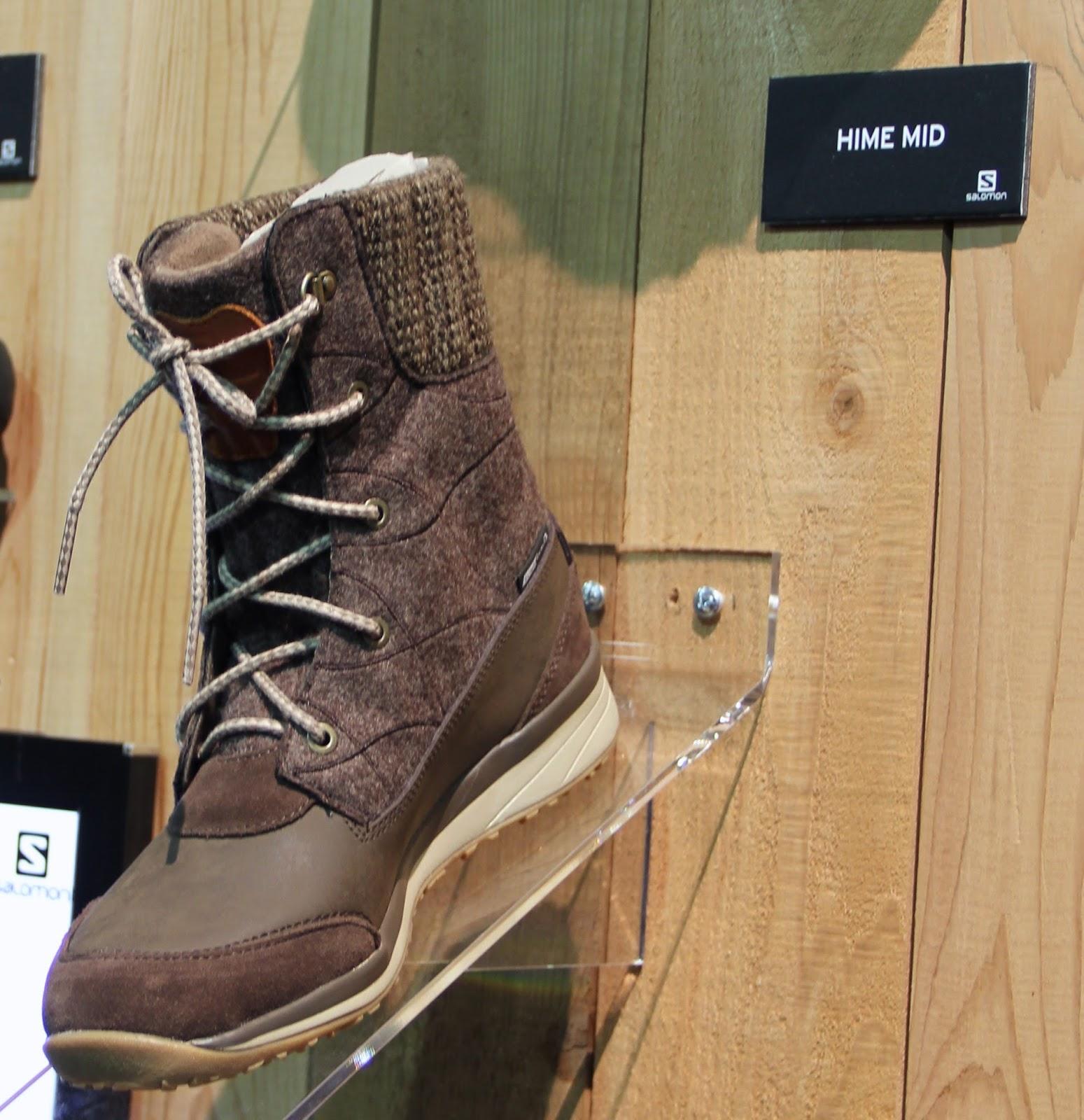 Salomon Fall 2014 Footwear M W