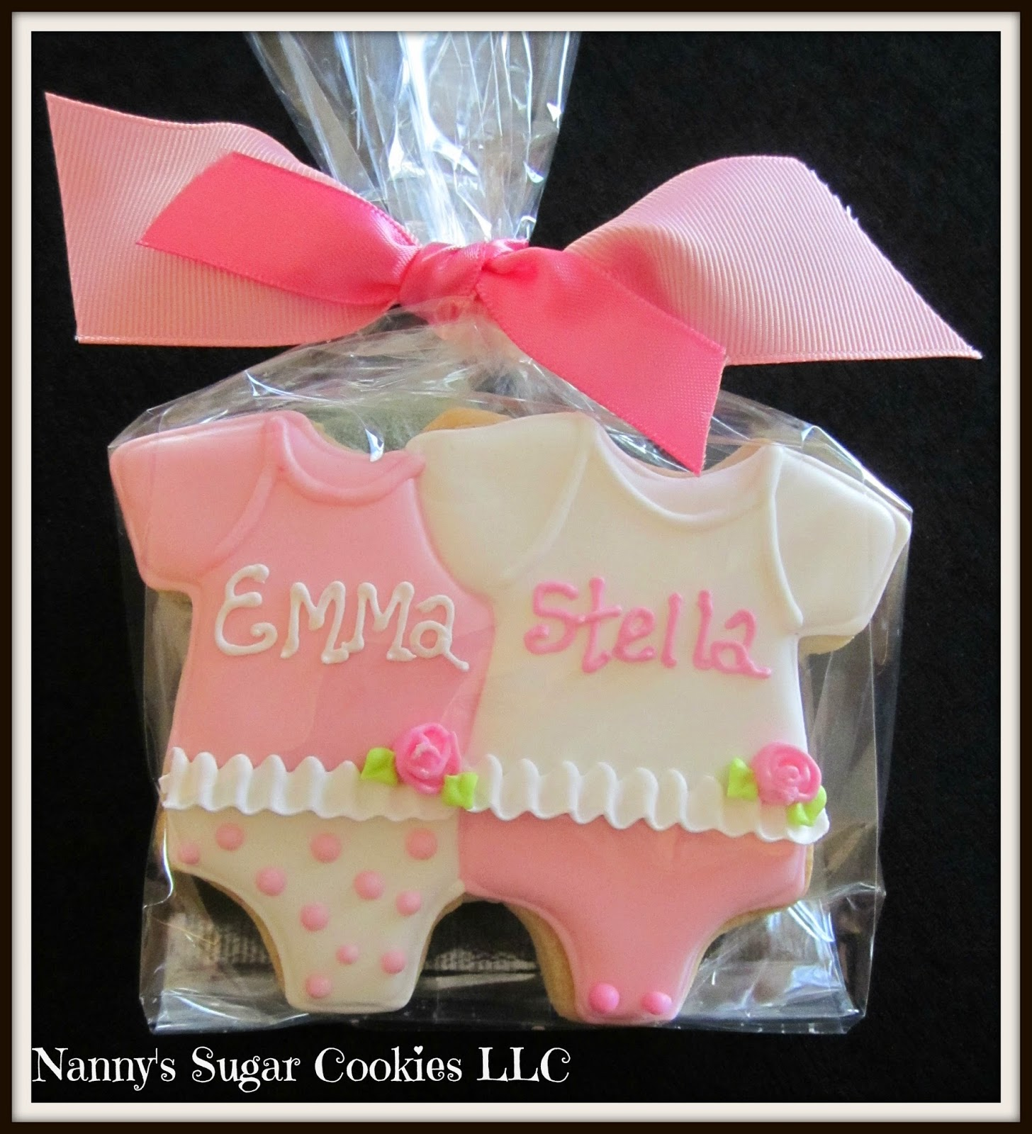 Nanny\'s Sugar Cookies LLC: Cookies for a Baby Shower....