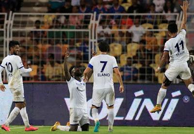Stiven Mendoza Hat-Trick; Chennaiyin FC Beat FC Goa by 4-0 At Home