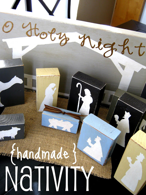 How to make this super adorable Handmade Nativity!! Super easy!!