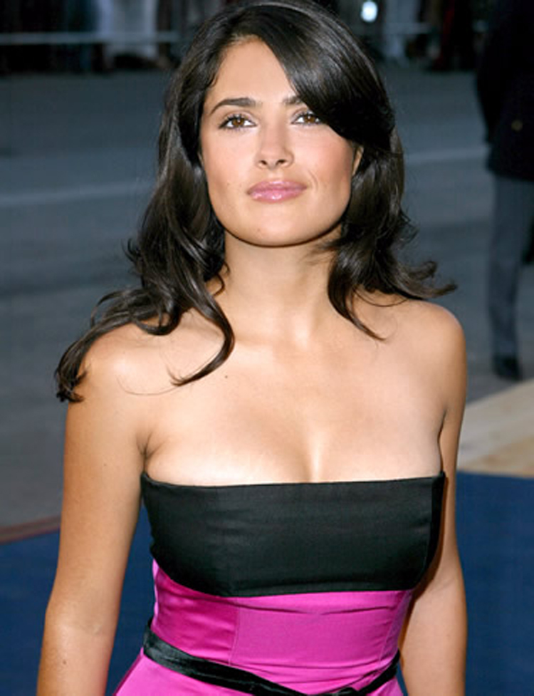 Fresh Look Like Salma Hayek Hairstyles 03
