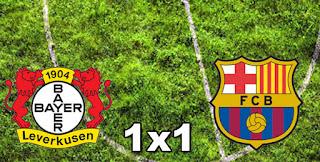 Leverkusen 1x1 Barcelona