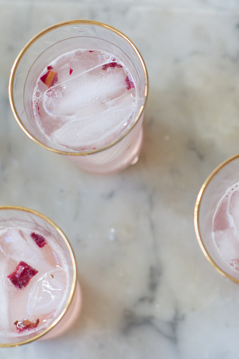 Amour-Love: PERFECTLY DELICIOUS : Rose & Rhubarb Syrup