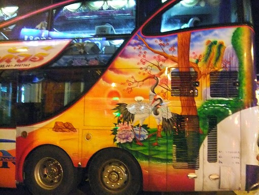 Painted Thailand Bus