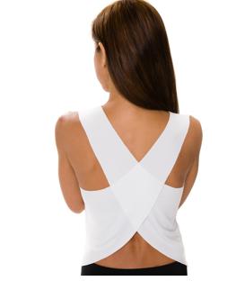 Style Athletics Onzie Activewear The Pura Vida Tank Top White
