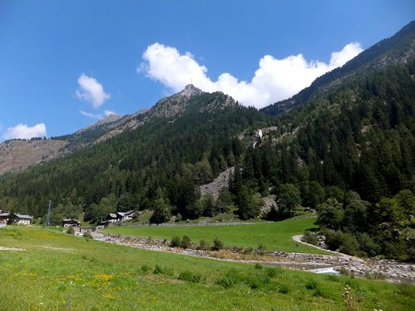 Italie Italy Aoste Aosta vallée lys walser