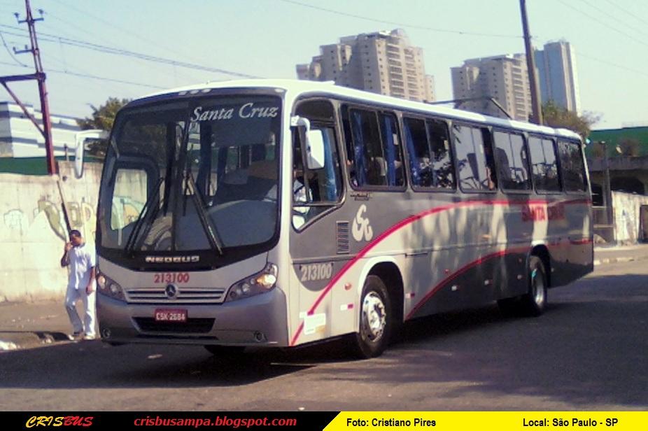 crisbus 213100 santa cruz neobus spectrum road 330