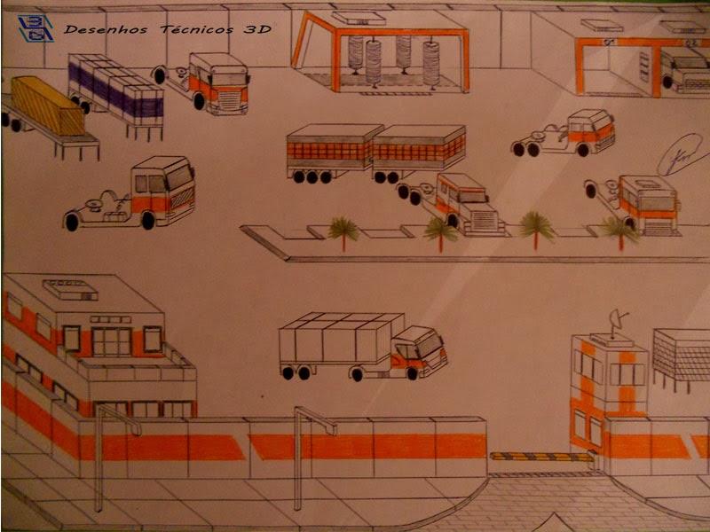 Empresa (desenho técnico em 3D)