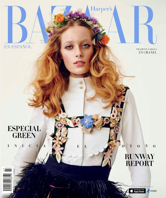 Model @ Thairine Garcia - Harpers Bazaar Mexico, August 2015