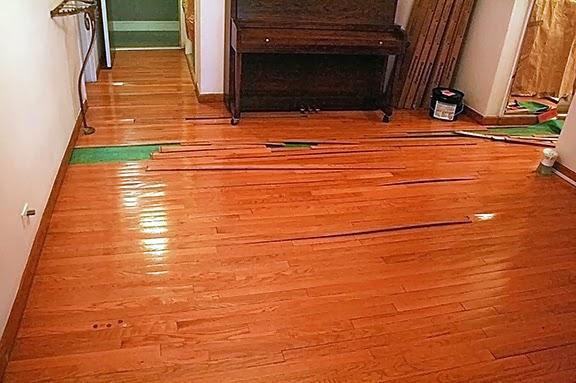 Floor installation, NYC