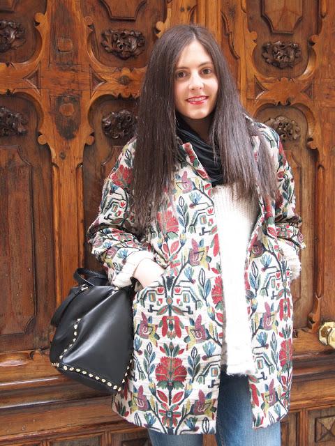 oversize coat from Zara