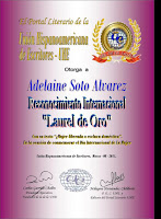 Laurel de Oro, Reconocimiento Internacional