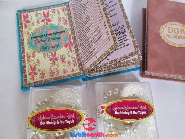 tasbih cantik souvenir pernikahan