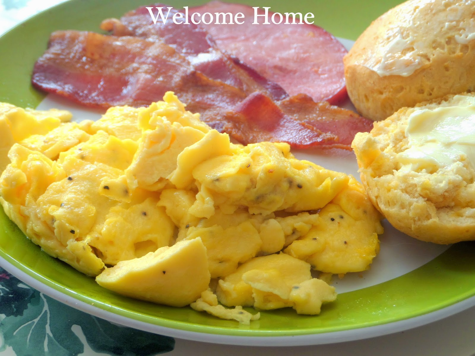 welcome home blog perfect scrambled eggs and ham