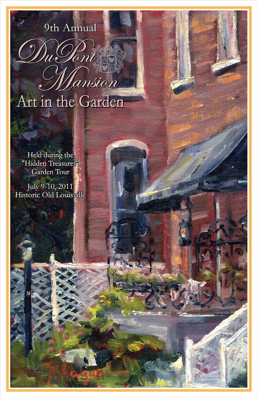 Old Louisville Inns Dupont Mansion Art In The Garden During The Old Louisville Hidden