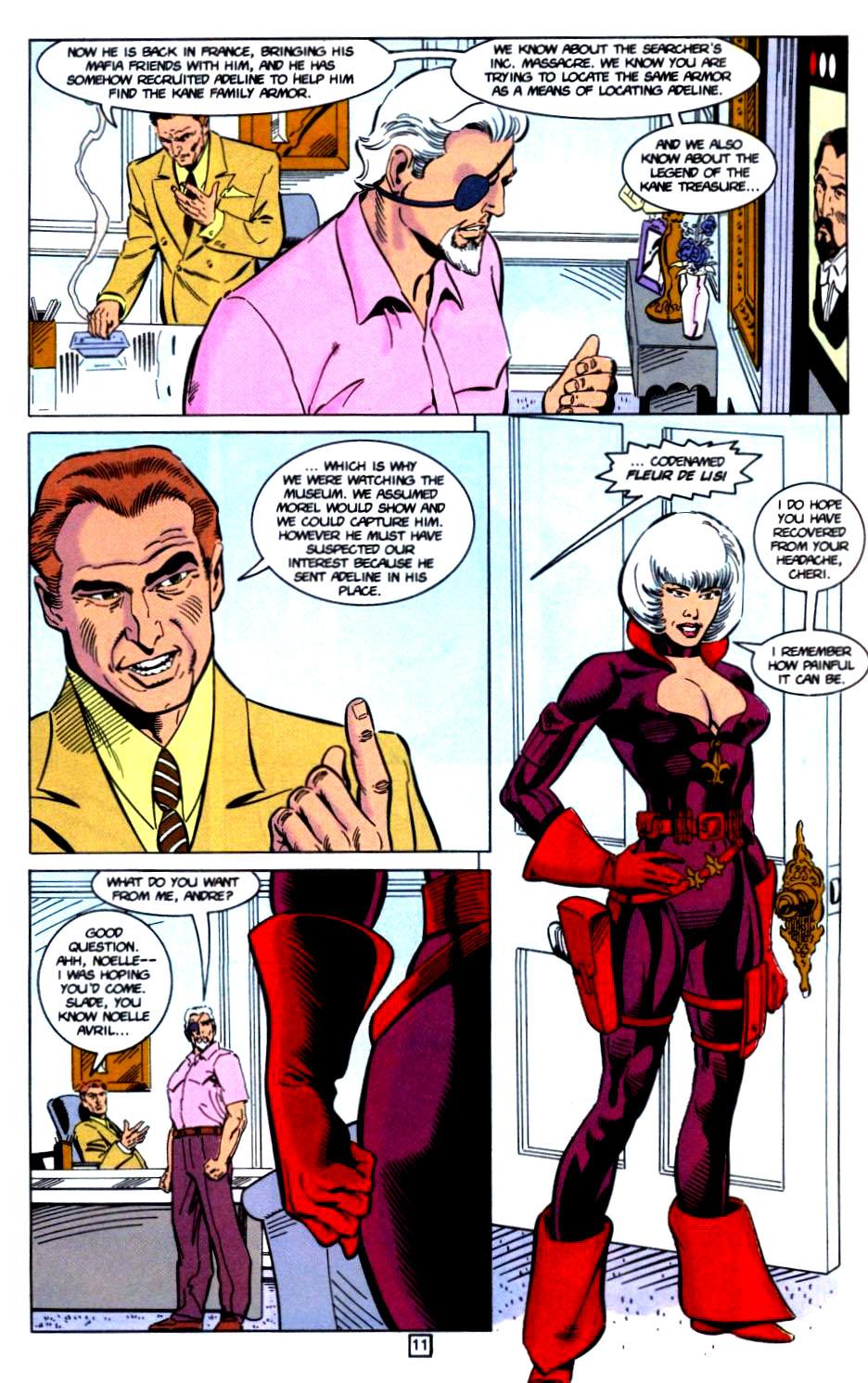 Deathstroke (1991) Issue #32 #37 - English 12