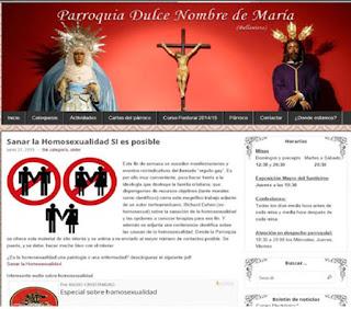 """Párroco de Sevilla ofrece """"ayuda para sanar la homosexualidad"""""""