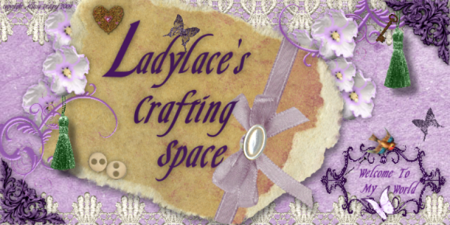 Ladylace's Crafting Space