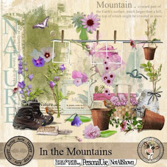 Happy Scrap Arts ::  In the Mountains