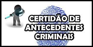 ANTECEDENTE CRIMINAL ESTADUAL