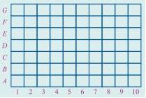Soal Matematika SD Kelas 6 - Koordinat Letak Benda