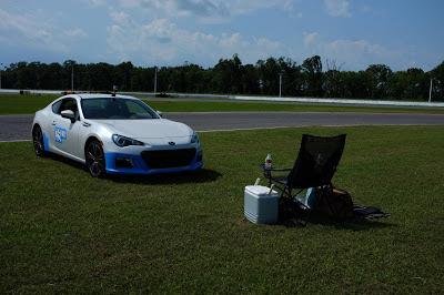 Subaru BRZ Grass Autocross