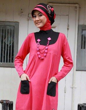 Model Baju Blus Muslim Zenitha 27 b