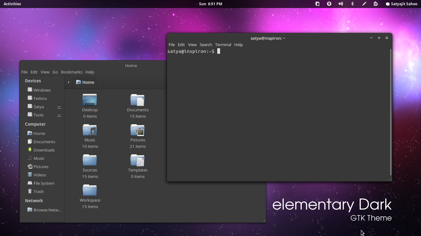 Elementary Dark Theme Updated For Ubuntu 12 04 Ubuntu Vibes
