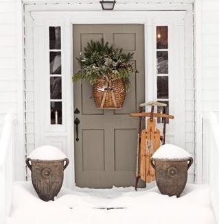 Fotos y dise os de puertas puertas exteriores madera - Como pintar una puerta de madera con brocha ...
