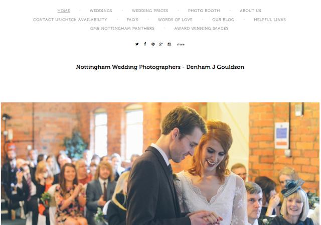 leading wedding photographers in Nottingham