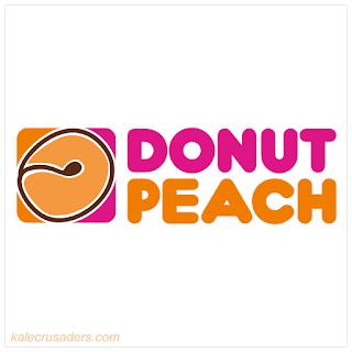 Donut Peach, Saturn Peach, Vegan Dunkin Donuts, Dunkin Donuts Logo