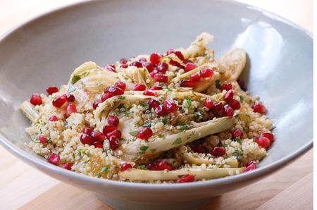 Cocoa and Lavender: Quinoa, Fennel and Pomegranate Salad
