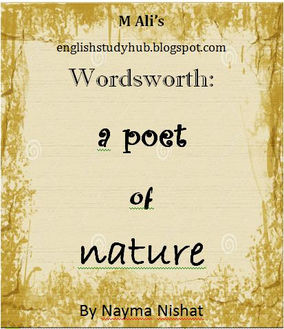 nature themed poems