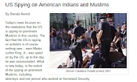 US Spying on American Indians and Muslims