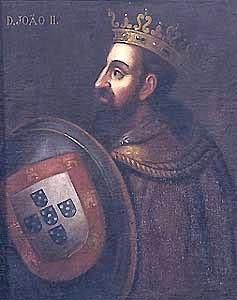 COLÓN Y EL REY DE PORTUGAL