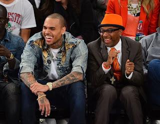 Chris Brown au basket