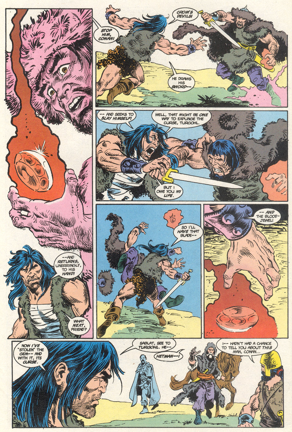 Conan the Barbarian (1970) Issue #275 #287 - English 50