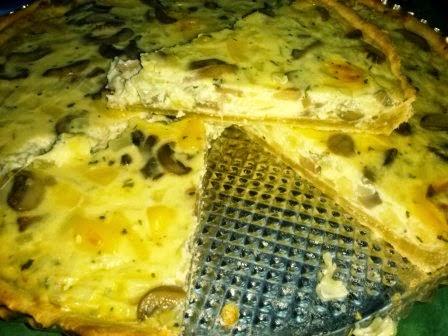 receta de champiñones y queso