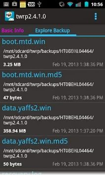 Nandroid Manager * ROOT Apk Download