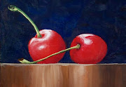 ACEO Two Cherries