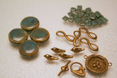 Bead soup: ceramic, brass, glass :: All Pretty Things