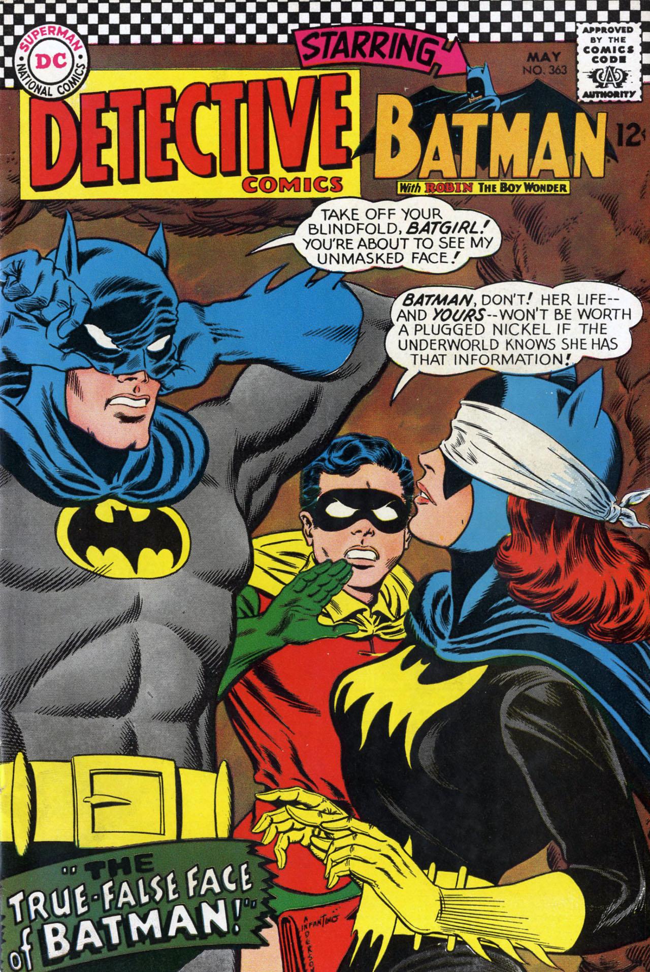 Detective Comics (1937) 363 Page 1