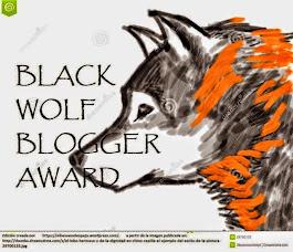 RECIBIMOS EL PREMIO BLACK WOLF