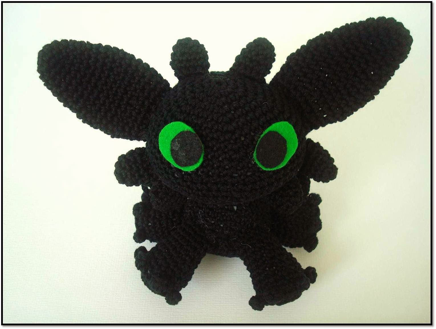 Itsy Bitsy Crafts: Chimuelo, Desdentado... FURIA NOCTURNA!!!