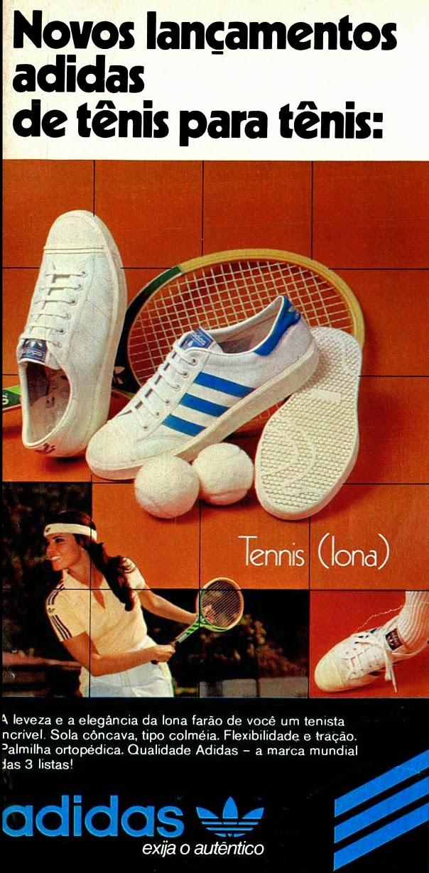 Adidas;  os anos 70; propaganda na década de 70; Brazil in the 70s, história anos 70; Oswaldo Hernandez;