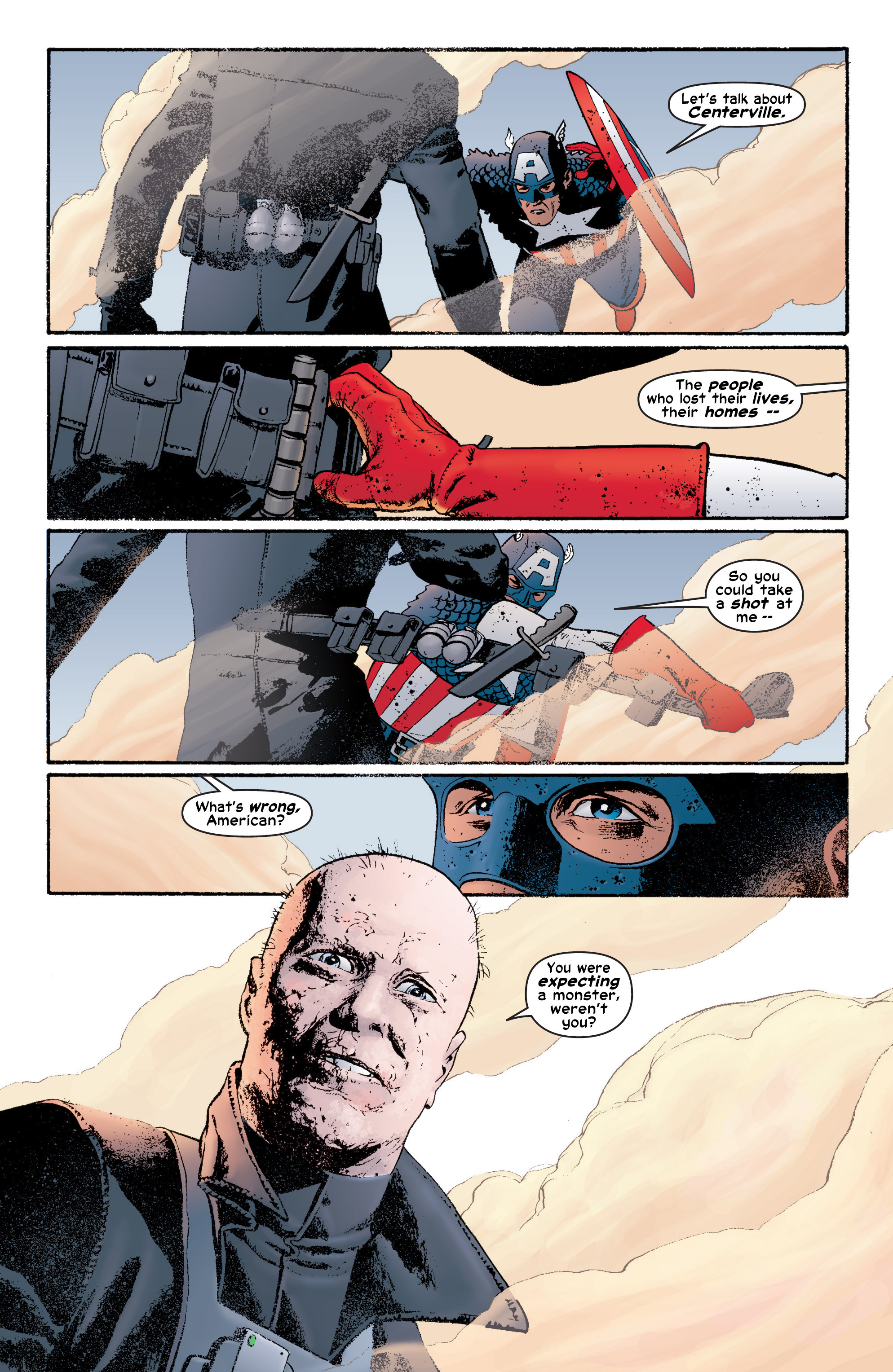 Captain America (2002) Issue #6 #7 - English 9