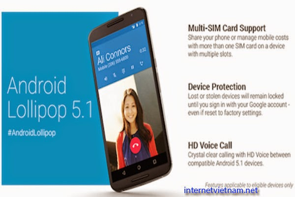Google Released Android 5.1, Anti-theft Features As iOS